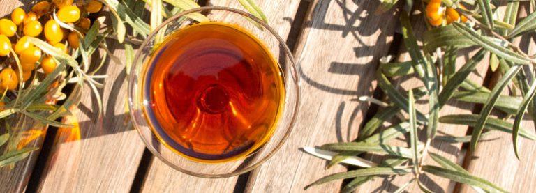 Sanddornöl: Fruchtfleisch- und Kernöl