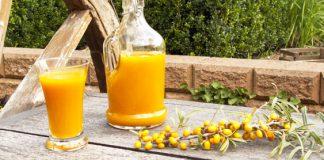Sanddornsaft als wertvolle Vitamin C-Quelle