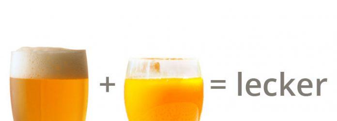 Sanddorn-Weizen-Bier-Mixgetränk selbst gemacht Rezept