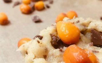 Rezept für Sanddorn-Schokolade-Kekse bzw. Cookies